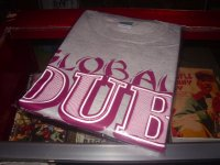 GLOBAL DUB SESSION with KING ALPHA OFFCIAL T-SHIRTS/GREY/(M)