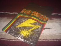 BAD BRAINS-CAPITOL OFFICIAL T-SHIRTS / CHARCOAL DISTRESSED / L /