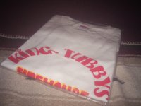 KING TUBBYS FIREHOUSE OFFCIAL T-SHIRTS / WHITE / (M)