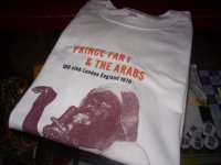 PRINCE FAR I/OFFICIAL T-SHIRTS/ WITHE/ (XL)