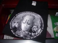 ABA SHANTI-I OFFICIAL 20th T-SHIRTS/BLACK/(M)