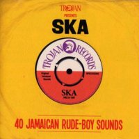 V.A-TROJAN PRESENTS:SKA 40 JAMAICAN RUDE-BOY SOUNDS (2CD)