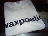 WAXPOETICS OFFCIAL LOGO T-SHIRTS/WHITE/(XL)