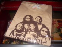 MORGAN HERITAGE OFFICIAL T-SHIRTS/BEIGE/(M)