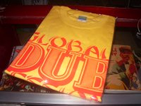 GLOBAL DUB SESSION with KING ALPHA OFFCIAL T-SHIRTS/YELLOW/(M)