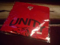UNITY-PRESSURE SOUNDS OFFICIAL T-SHIRTS/RED/(XL)