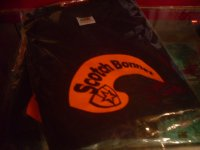 SCOTCH BONNET OFFICIAL T-SHITS/ LADIES/(S) BLK