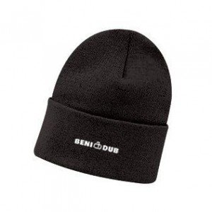 画像1: BENI DUB OFFICIAL KNIT CAP/ BLACK /