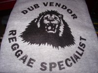 DUB VENDOR OFFICIAL T-SHIRTS / GRAY / (L)