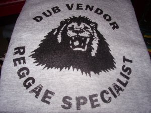 画像1: DUB VENDOR OFFICIAL T-SHIRTS / GRAY / (L)