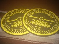 THE DISCIPLES OFFICIAL SLIP MAT by DUB VENDOR / YELLOW /