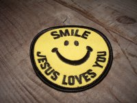 SMILE JESUS LOVES YOU & PEACE/ WAPPEN