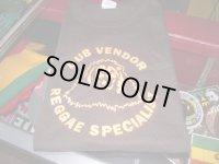 DUB VENDOR T-SHIRTS/BROWN/(L)
