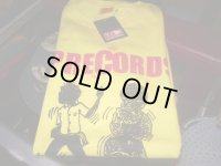 VP RECORDS 30周年記念OFFICIAL T-SHIRTS/YELLOW/(M)