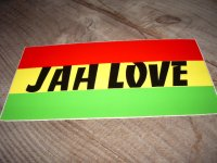 JAH LOVE/ STICKER