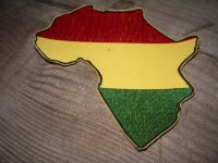 AFRICA & RASTA COLOR/ WAPPEN