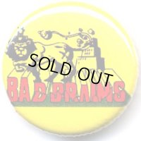 BAD BRAINS-OFFICIAL BUTTON BADGE