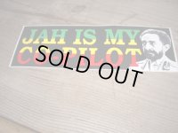 JAH IS MY CO-PILOT/ STICKER