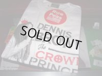 CROWN PRINCE DENNIS BROWN OFFICIAL T-SHIRTS/WHITE/(M)