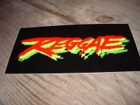 REGGAE/ STICKER